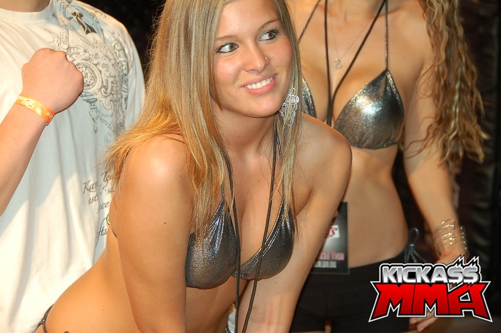 Indefinitely Nude mma ring girls
